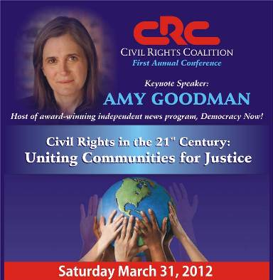 Register to attend the 1st Annual Civil Rights Conference in the 21st Century: Uniting Communities for Justice, Saturday, 03/31
